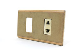 Débouché électrique Image libre de droits