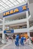 Débouché d'IKEA à l'intérieur de centre commercial de Livat, Pékin, Chine Photo libre de droits