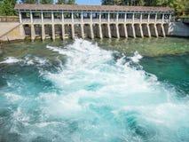 Débouché de l'eau du lac Tahoe Image libre de droits