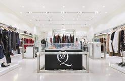 Débouché intérieur de mode d'Alexander McQueen, Pékin, Chine Photos libres de droits