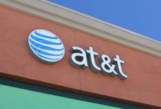 Débouché pour les ventes au détail d'AT&T Photo stock