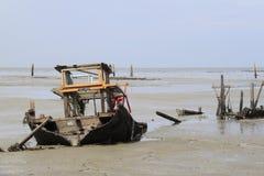 Débris du tsunami 2004 Photo stock