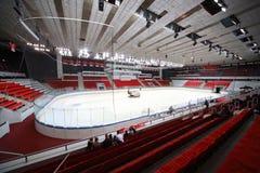 Début d'allumette d'hockey Photos libres de droits