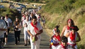 Début de festival de Haro Wine Festival Image libre de droits