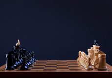Début de jeu d'échecs Image libre de droits