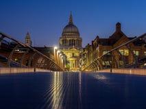 Début de la matinée à Londres - 2 Photos stock