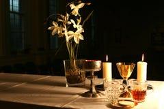 Début de la matinée dans la chapelle 3 Images stock