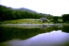 Début de la matinée de Chambre de montagne Photo libre de droits
