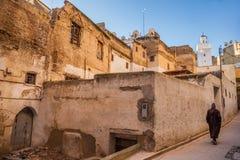 Début de la matinée en Médina, Fez Photographie stock libre de droits