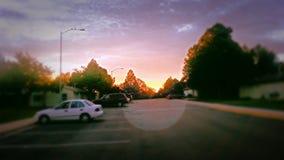 Début de la matinée par mes yeux Photos stock