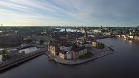 Début de la matinée de Stockholm Suède banque de vidéos