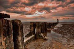 Début de la matinée sur la côte Photos libres de droits