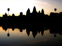 Temple d'Ankor Wot Photos libres de droits
