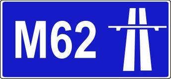 Début de signe de règlements d'autoroute illustration stock