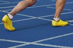 Début Sprinting images libres de droits