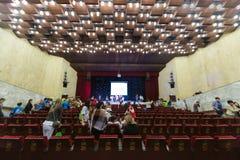 Début VII du festival du tour de la télévision des enfants Photo stock