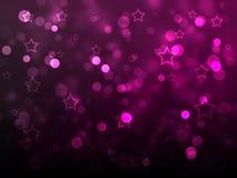 Débuts et lueur de Noël Photos libres de droits