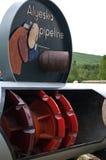 Décapant de canalisation d'Alyeska Photos stock