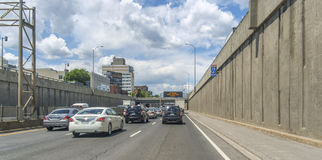 Décarie Expressway Stock Photography