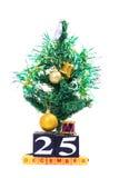 25 décembre Photo stock
