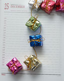 25 décembre Photographie stock
