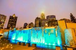 27 décembre 2014, Charlotte, OR, horizon des Etats-Unis - Charlotte près de r Photos libres de droits