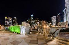 27 décembre 2014, Charlotte, OR, horizon des Etats-Unis - Charlotte près de r Image stock