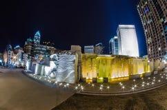 27 décembre 2014, Charlotte, OR, horizon des Etats-Unis - Charlotte près de r Photographie stock