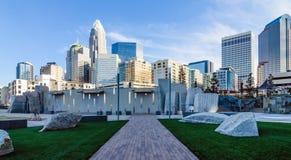27 décembre 2013, Charlotte, OR - vue d'horizon de Charlotte à Images stock