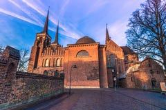 4 décembre 2016 : Façade latérale de la cathédrale de St Luke dedans Image libre de droits