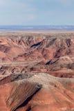21 décembre 2014 - forêt pétrifiée, AZ, Etats-Unis Image stock