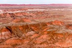 21 décembre 2014 - forêt pétrifiée, AZ, Etats-Unis Photos stock