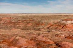 21 décembre 2014 - forêt pétrifiée, AZ, Etats-Unis Images libres de droits