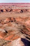 21 décembre 2014 - forêt pétrifiée, AZ, Etats-Unis Photographie stock