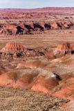 21 décembre 2014 - forêt pétrifiée, AZ, Etats-Unis Photo libre de droits