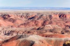 21 décembre 2014 - forêt pétrifiée, AZ, Etats-Unis Photographie stock libre de droits