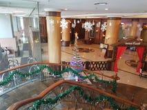 30 décembre 2016, Kuala Lumpur Le lobby d'hôtel de l'hôtel Subang USJ de sommet Photo libre de droits