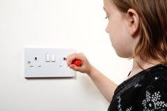 Décharge électrique Photos stock