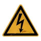décharge électrique de la mort de danger Photo libre de droits