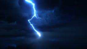 Décharge électrique ultra superbe de mouvement lent, tir de caméra à grande vitesse