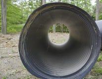 Décharge/érosion de secteur de crique photo stock