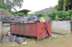 Décharge de déchets Kuala Lumpur Malaysia images stock
