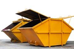 Décharge de poubelle de déchets industriels pour les déchets municipaux ou l'industria image libre de droits