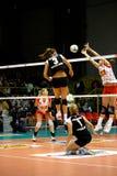 Décharge - volleyball tout le jeu 2008 d'étoile Photographie stock libre de droits