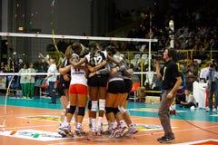 Décharge - volleyball tout le jeu 2008 d'étoile Photographie stock