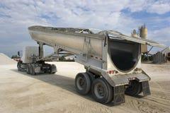 Déchargement du camion Images stock