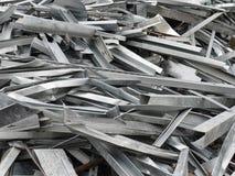 Déchet métallique Image stock