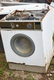 Déchets d'appareils de Chambre Gestion des déchets Pollution d'environnement images libres de droits