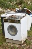 Déchets d'appareils de Chambre Gestion des déchets Pollution d'environnement photos libres de droits