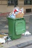 Déchets d'ordures image stock